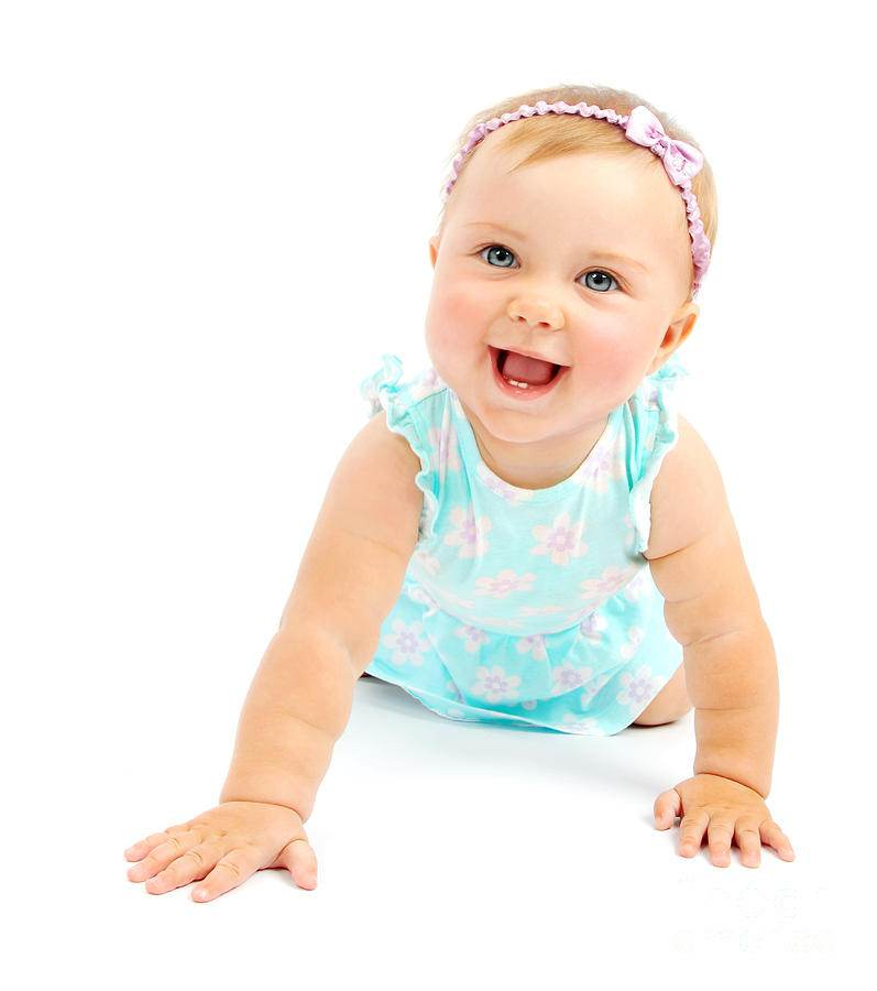 adorable-little-baby-girl-laughing-anna-omelchenko