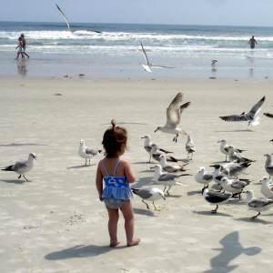 mare copil pasari apa nisip (http.image3.examiner.com)