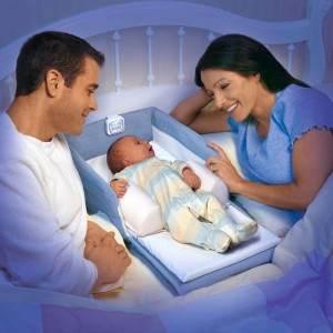 somn bebelus parinti pat (www.supercoolbaby.com)