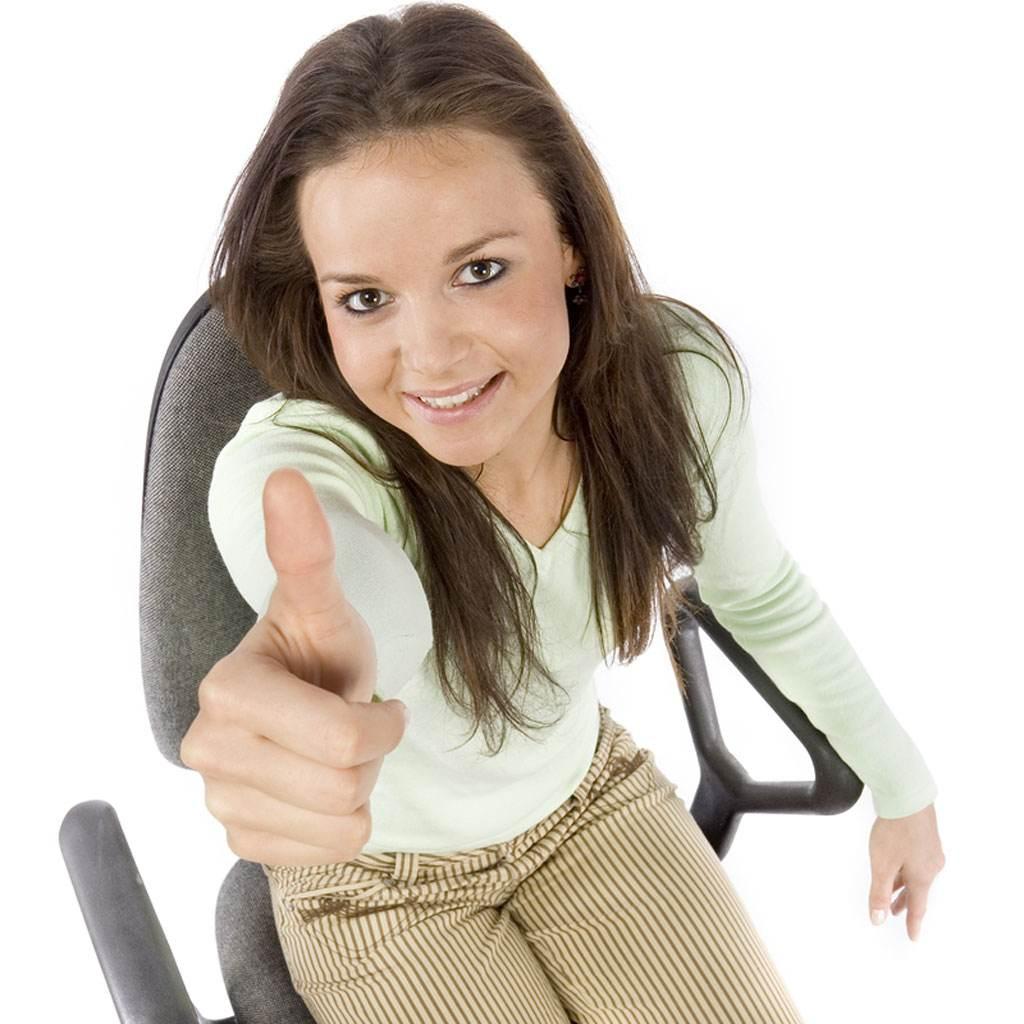 femeie la serviciu (www.thejobsearchguru.com)
