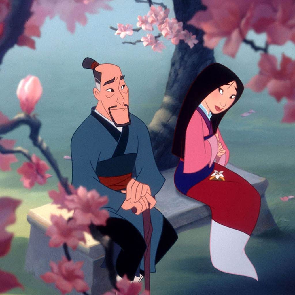 desene animate (Mulan)