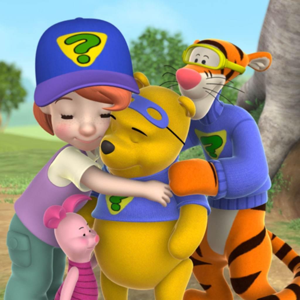 Darby,-Piglet,-Pooh-&-Tigger