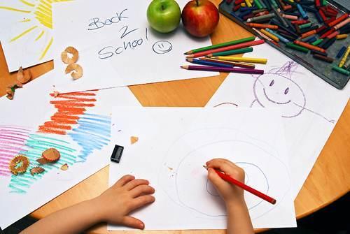 copil la scoala