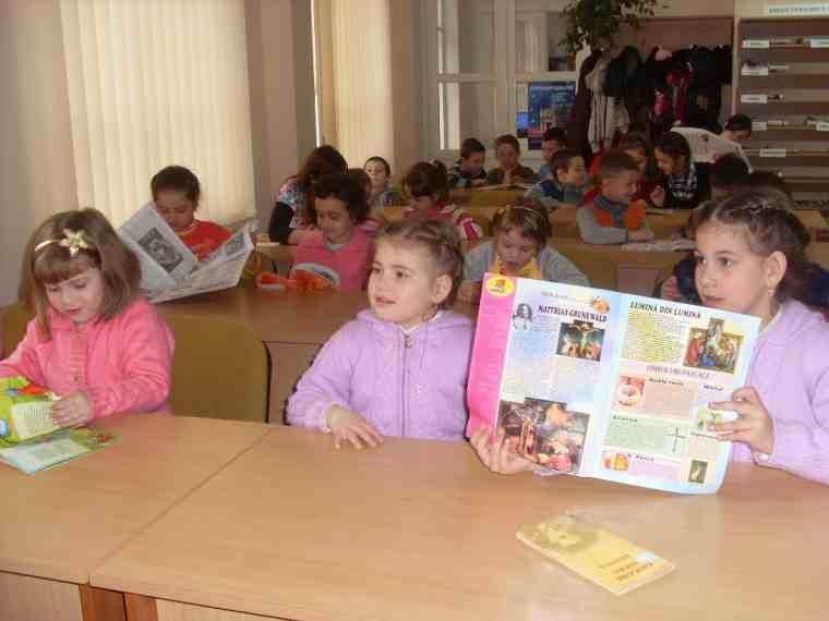 copii in clasa pregatitoare