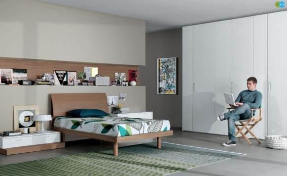 ikea attic bedroom ideas - Care sunt cele mai potrivite culori pentru o camera de