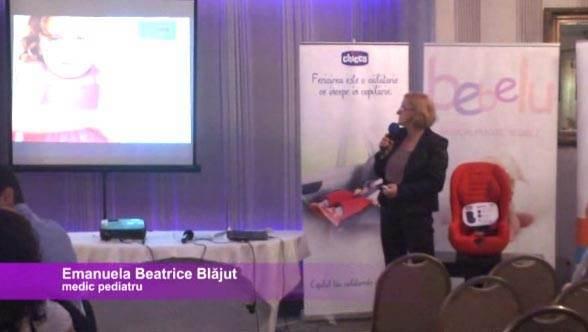 Emanuela Blajut, medic pediatru, despre masurile de prim ajutor