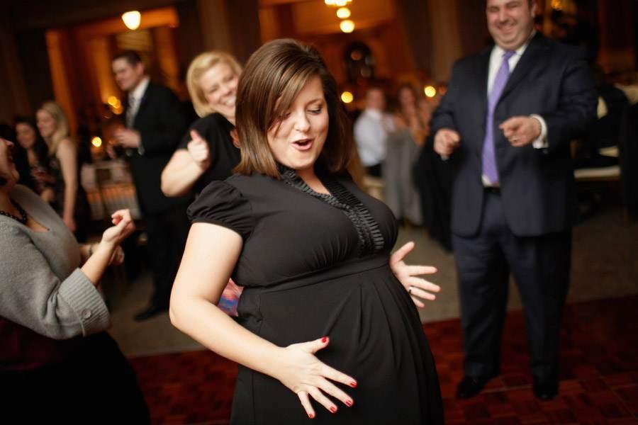 dansul in sarcina