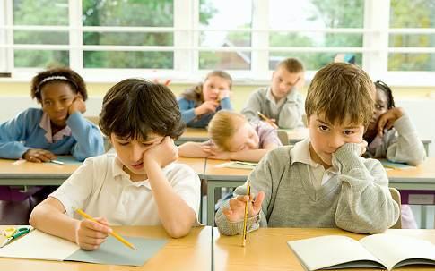 copilul la scoala