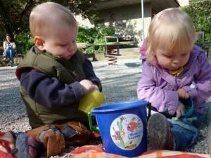 copii joaca