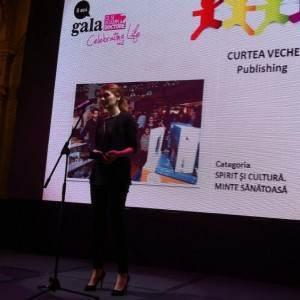 Curtea Veche Publishing la Gala CSID