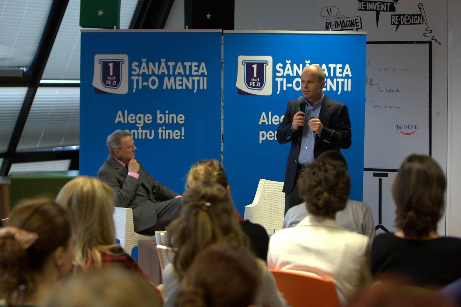Lansare campanie 1 iaurt pe zi_Dieter Schulz, Director General Danone pentru Europa de Sud Est