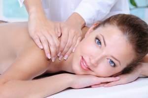 woman relaxing in the beauty salon
