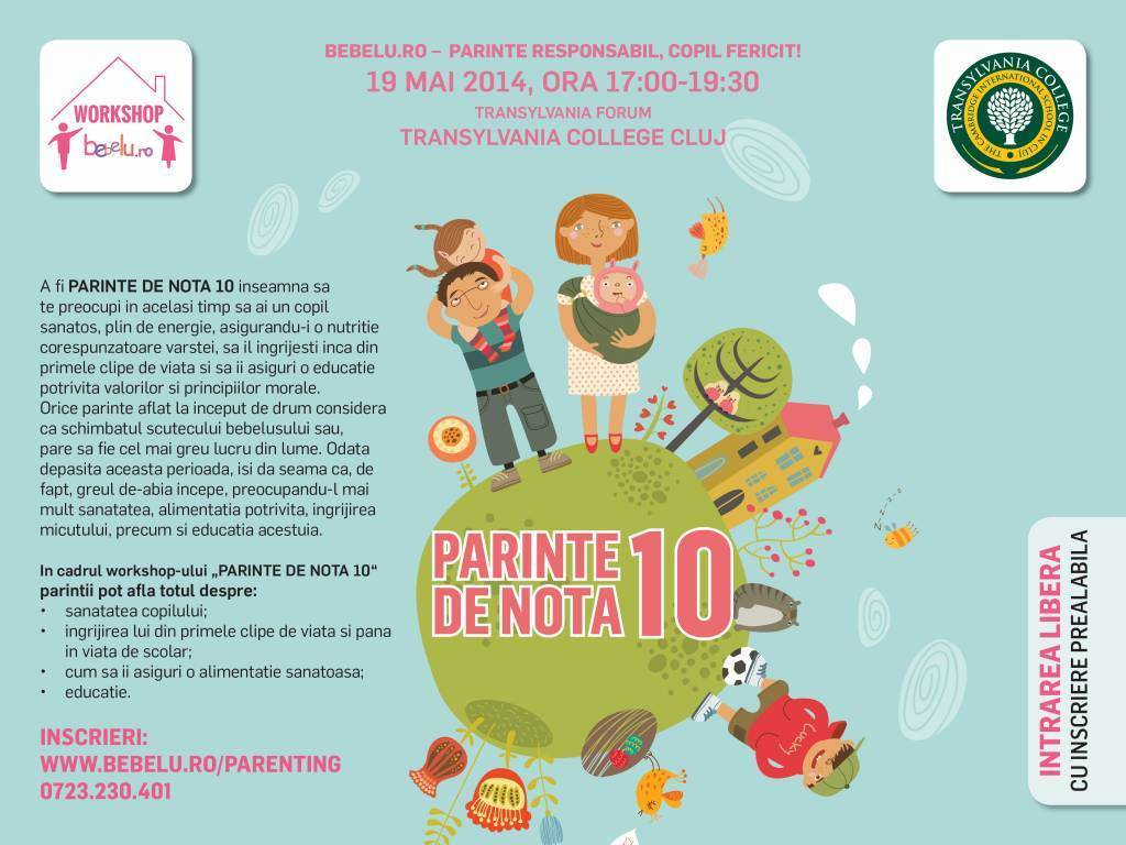 Workshop - Parinte de nota 10!