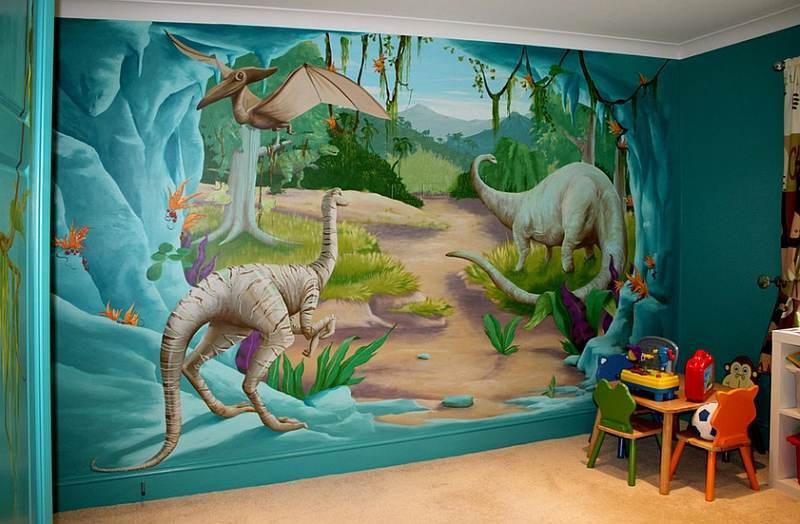 Modalităţi De A Integra Dinozaurii în Decorul Camerei